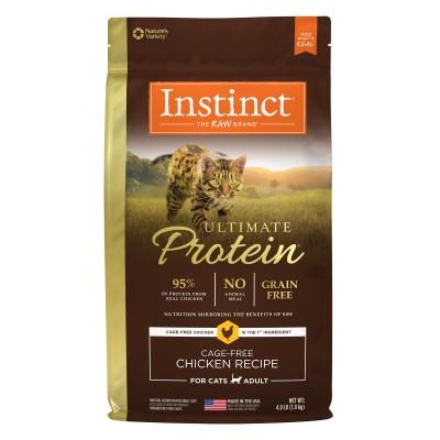 無穀物頂級蛋白質貓乾糧 - 雞肉配方 (10lbs) - Nature's Variety Instinct