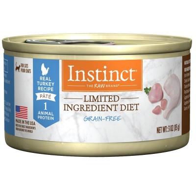 本能單一蛋白火雞肉貓罐頭 5.5oz (12罐)